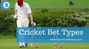 Cricket Bet Types