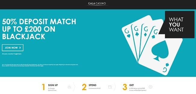 Gala Blackjack Reviews