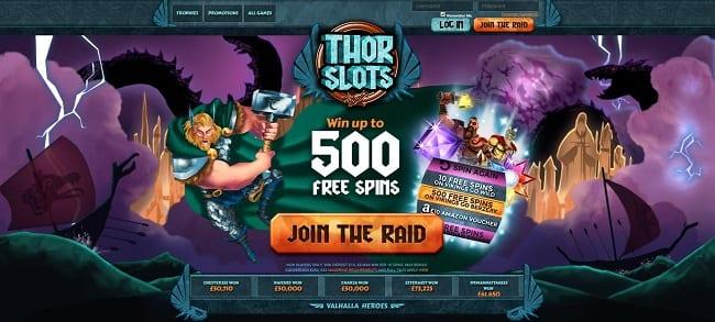 Thor Slots Reviews
