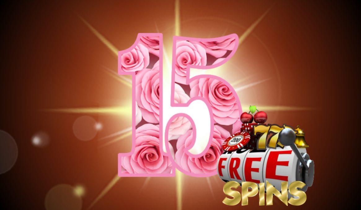 15 Free Spins No Deposit UK