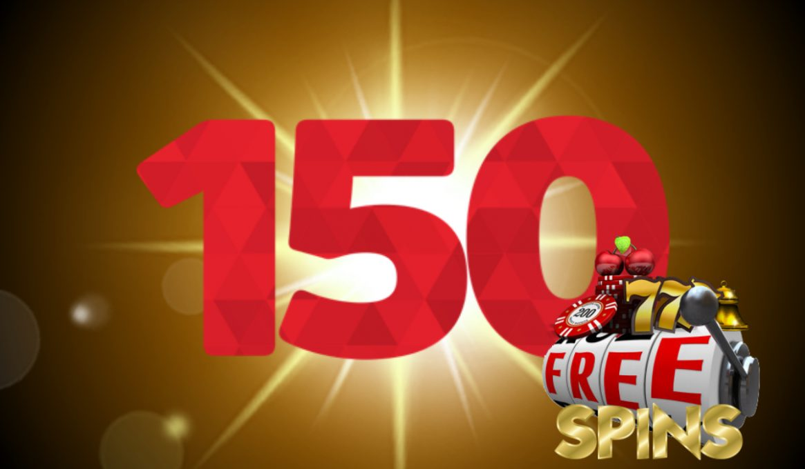 150 Free Spins Online Slots