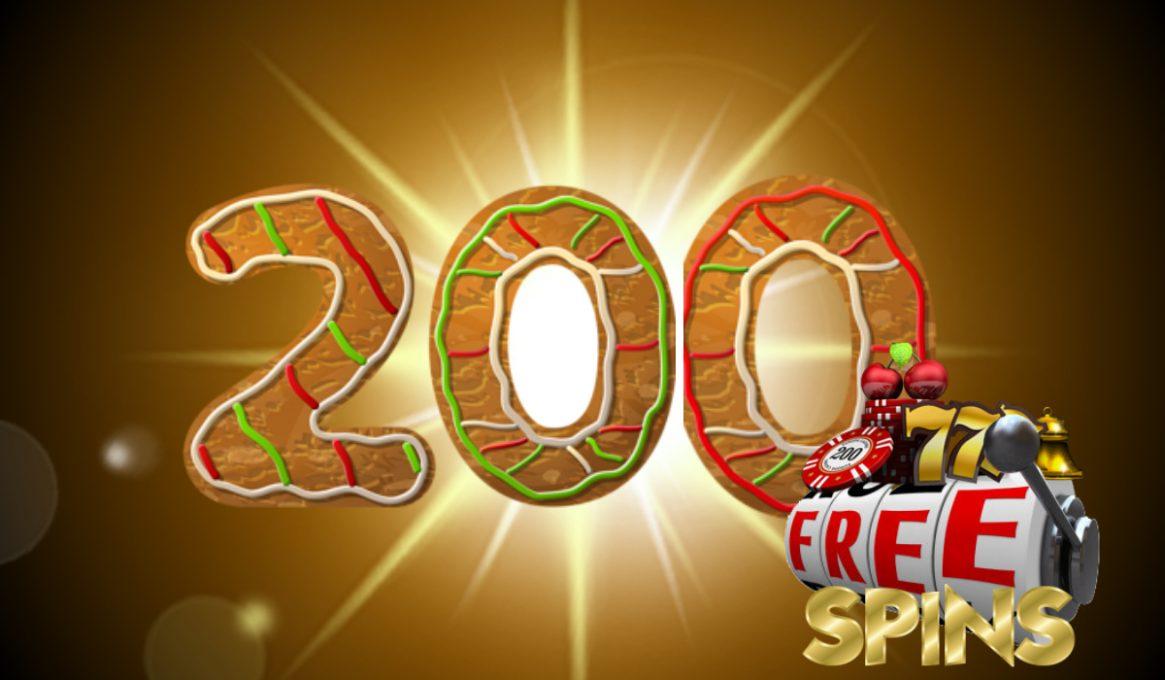 200 No Deposit Free Spins
