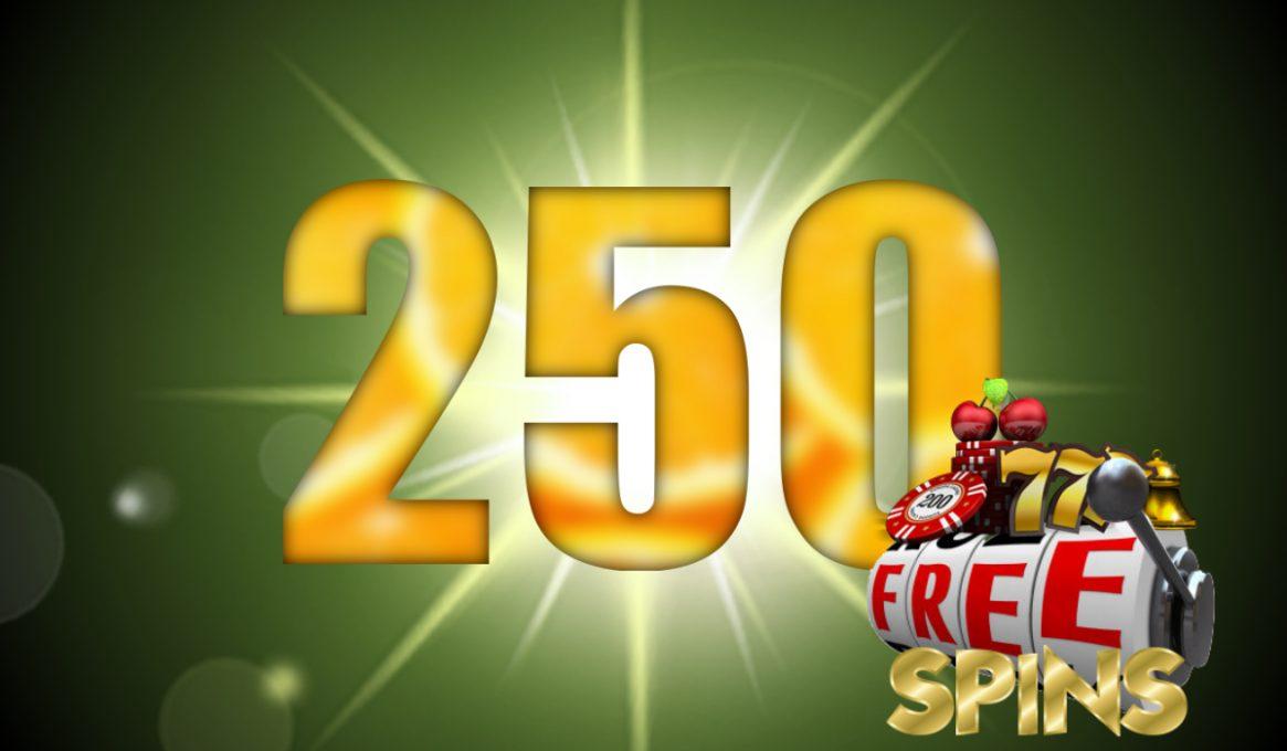 250 Free Spins No Deposit Slots