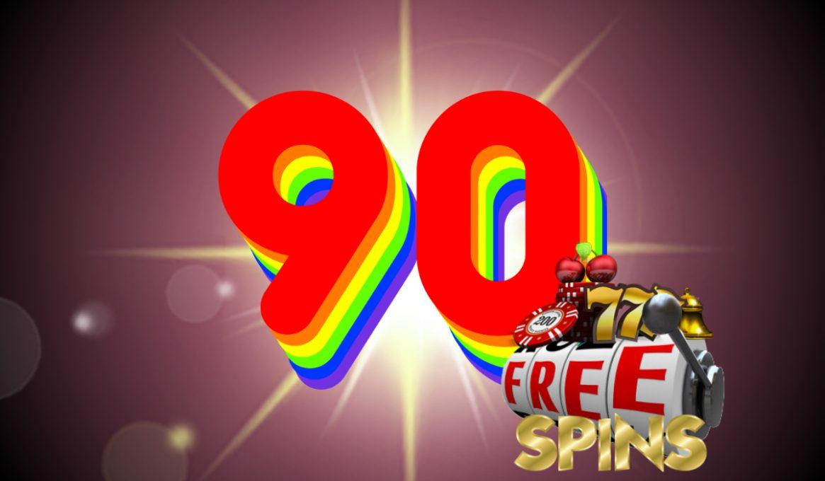 90 Free Spins Slots Bonus