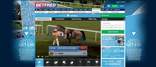 Betfred Virtual Betting Reviews