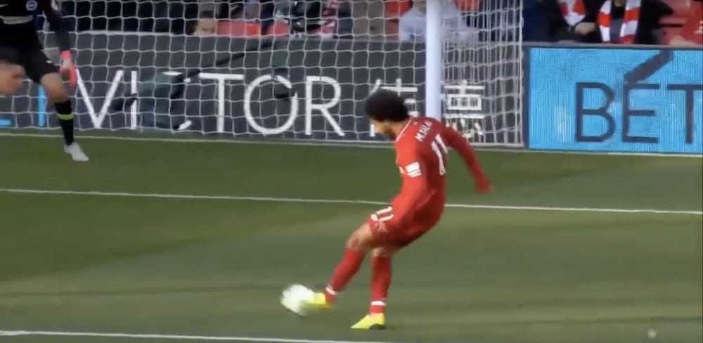Mo Salah Goal Vs Brighton