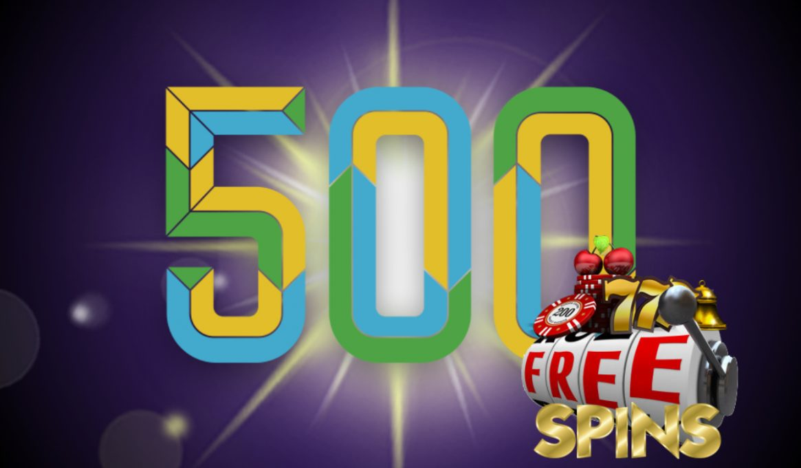 500 Free Spins Slots