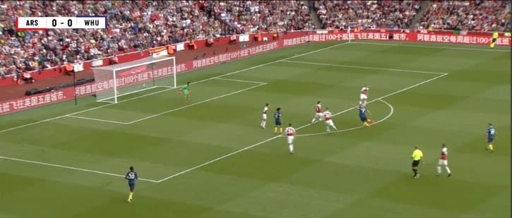 Arnautovics give West Ham the lead against Arsenal