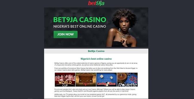 Bet9ja Casino Reviews