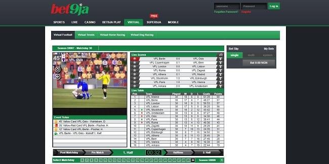 Bet9ja Virtual Bet Reviews