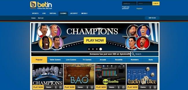 Betin Casino Reviews