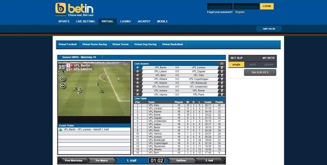 Betin Virtual Bet Reviews