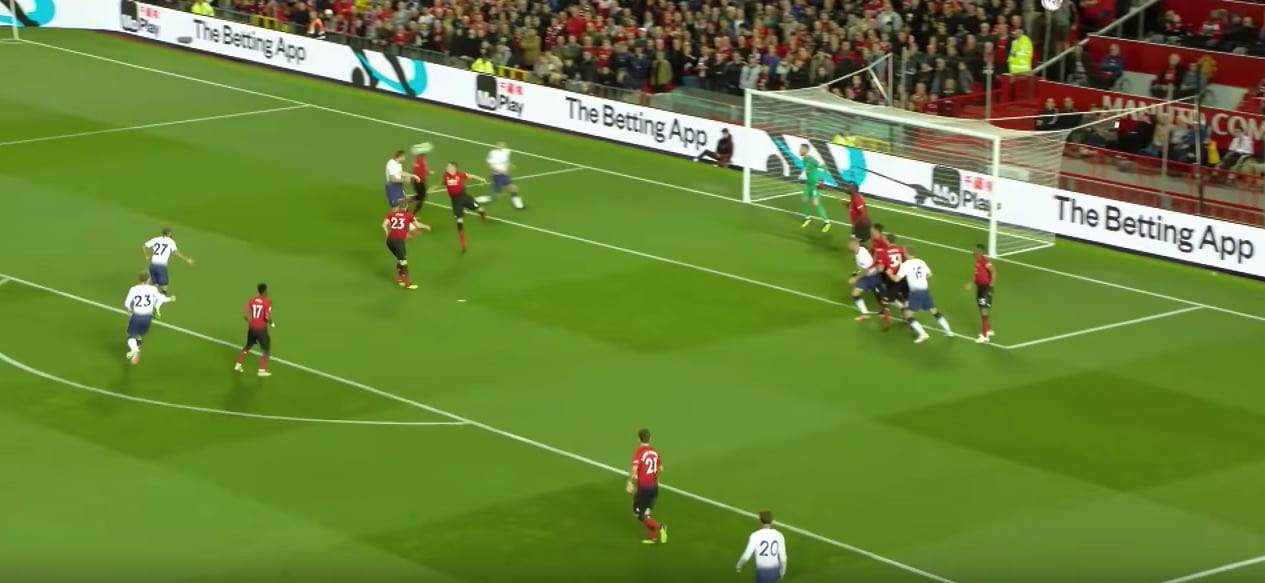 Harry Kane gives Tottenham the lead