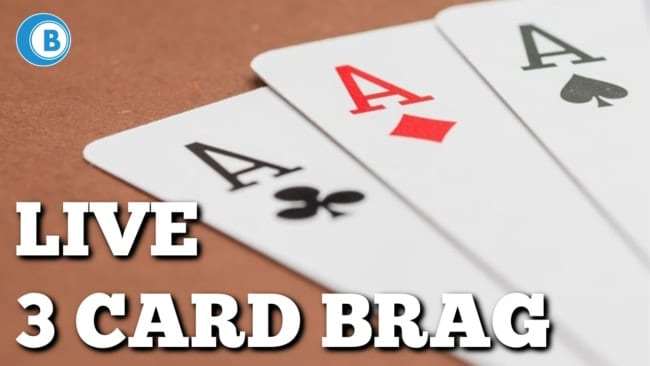 Live 3 Card Brag Sites