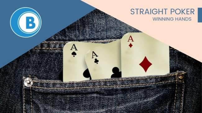 Straight Poker Winning Hands