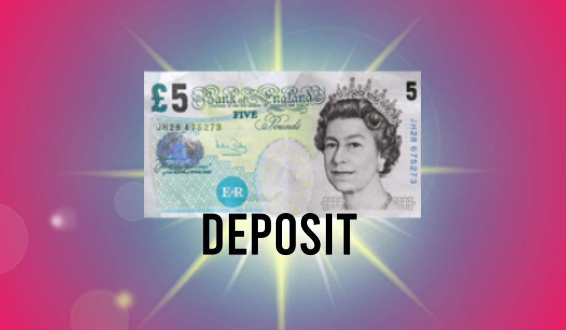 £5 Deposit Casino UK