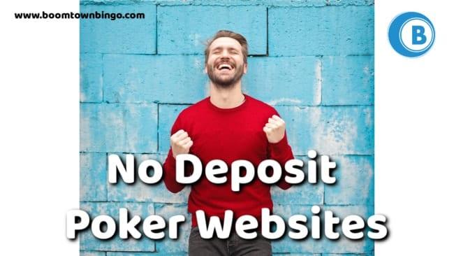No Deposit Poker Websites