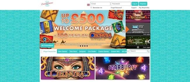 Casino Dames Review – Up to £500 Bonus