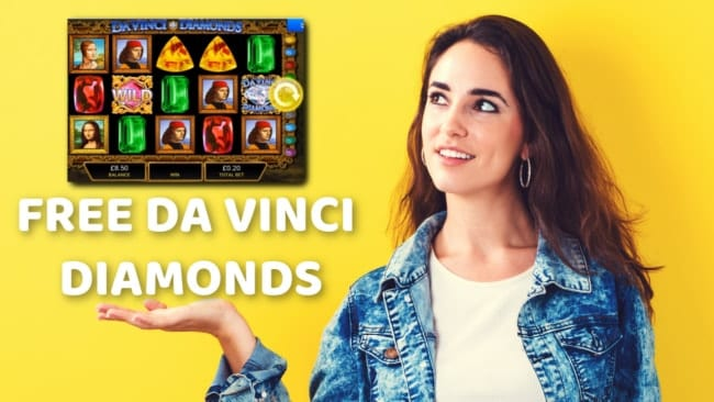 Davinci Diamonds Slots No Deposit