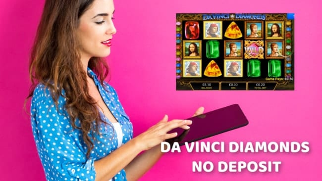 Free Davinci Diamonds Slots