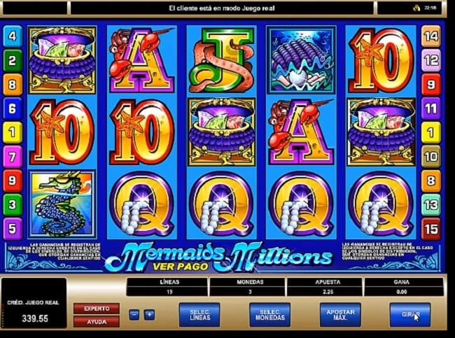 Mermaid Millions Slots
