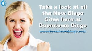 New Bingo Sites at Boomtown Bingo