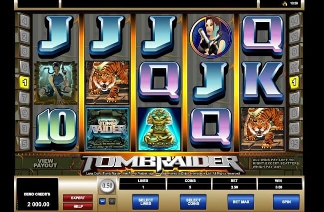 Tomb Raider Slots