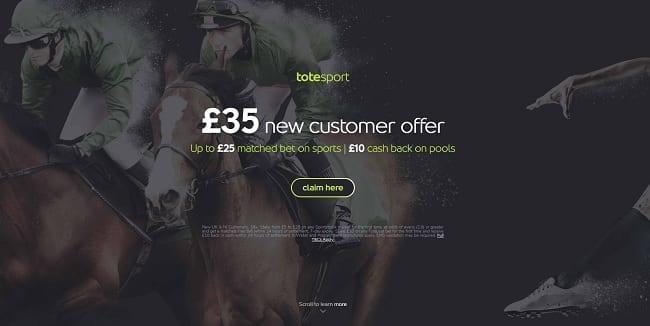 Totesport Betting Review – £35 New Player Bonus