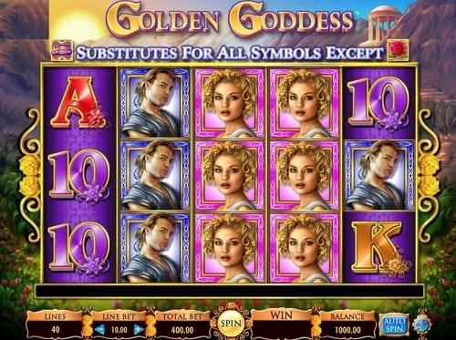 Golden Goddess Slots Game Online