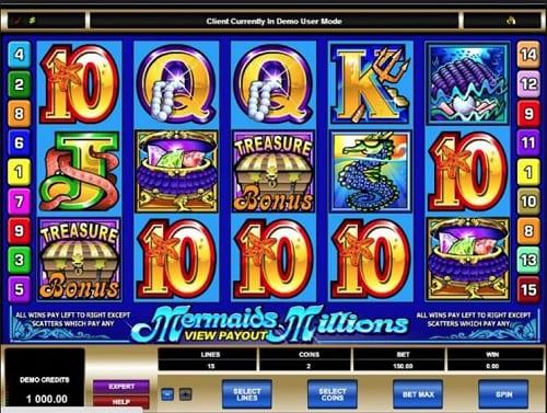 Mermaids Millions Slot Game Online