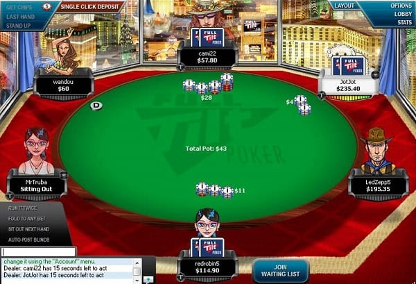 Playing at Online Poker Sites