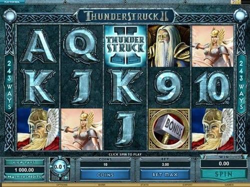 Thunderstruck 2 Slots Game Online