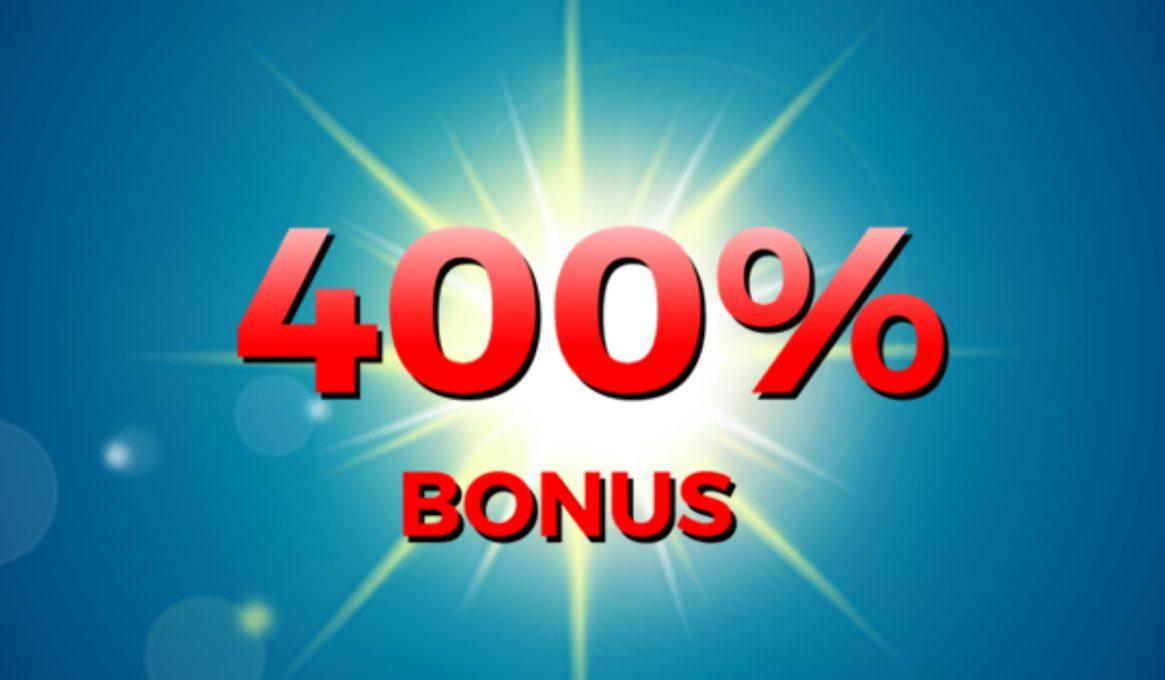 400% Deposit Bingo Bonuses