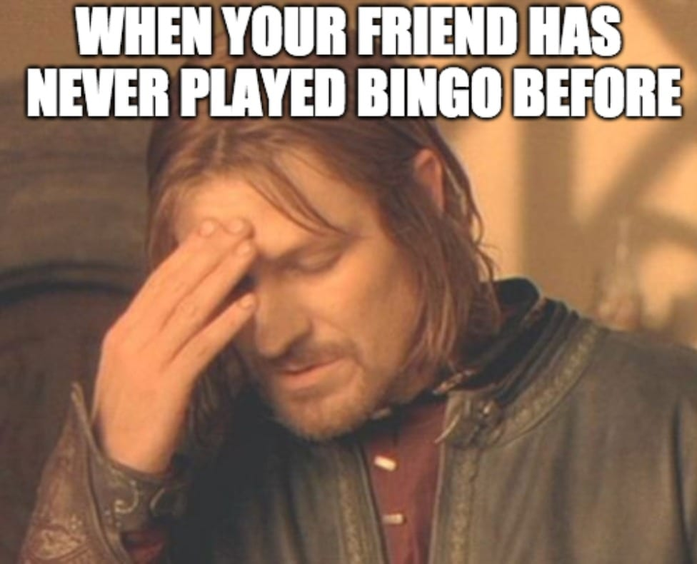 Never Played Bingo