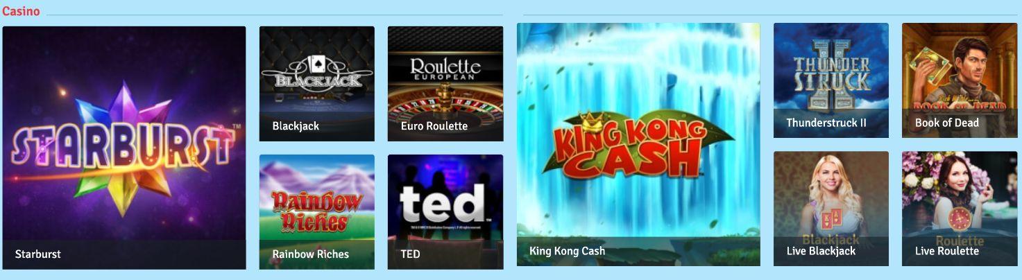 bingo.com casino sites