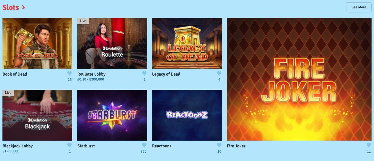 bingo.com slot games