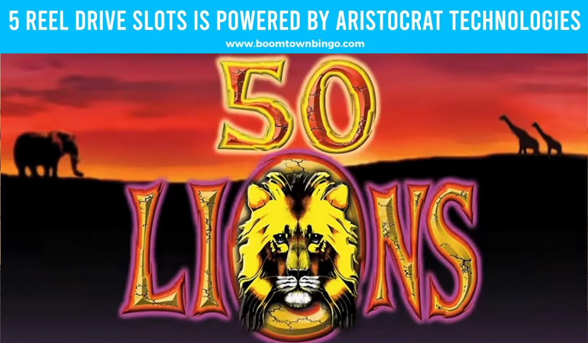 50 Lions Slots made by Aristocrat Technologies