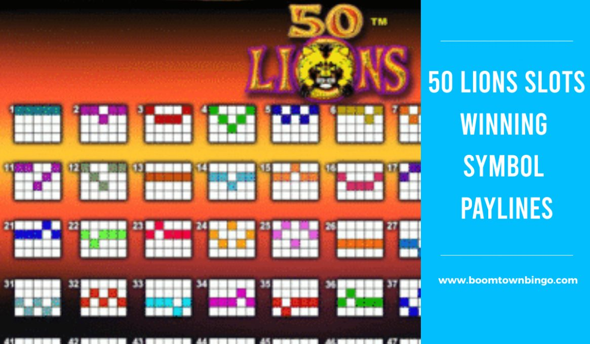 50 Lions Slots Winning Paylines