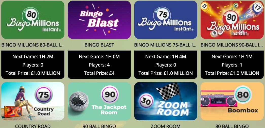 Balmy Bingo Games