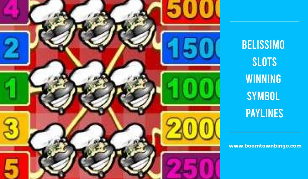 Belissimo Slots Symbol winning Paylines