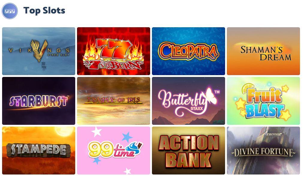 Bingo Storm Top Slots