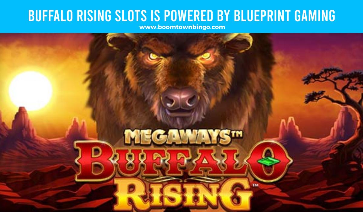Buffalo Rising Slots is made by Blueprint Gaming