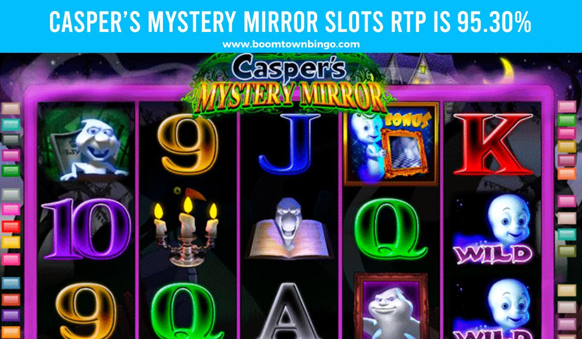 Casper's Mystery Mirror Slots Return to player