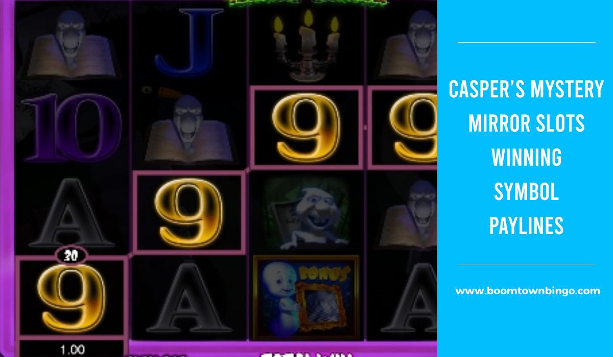 Casper's Mystery Mirror Slots Symbol winning Paylines