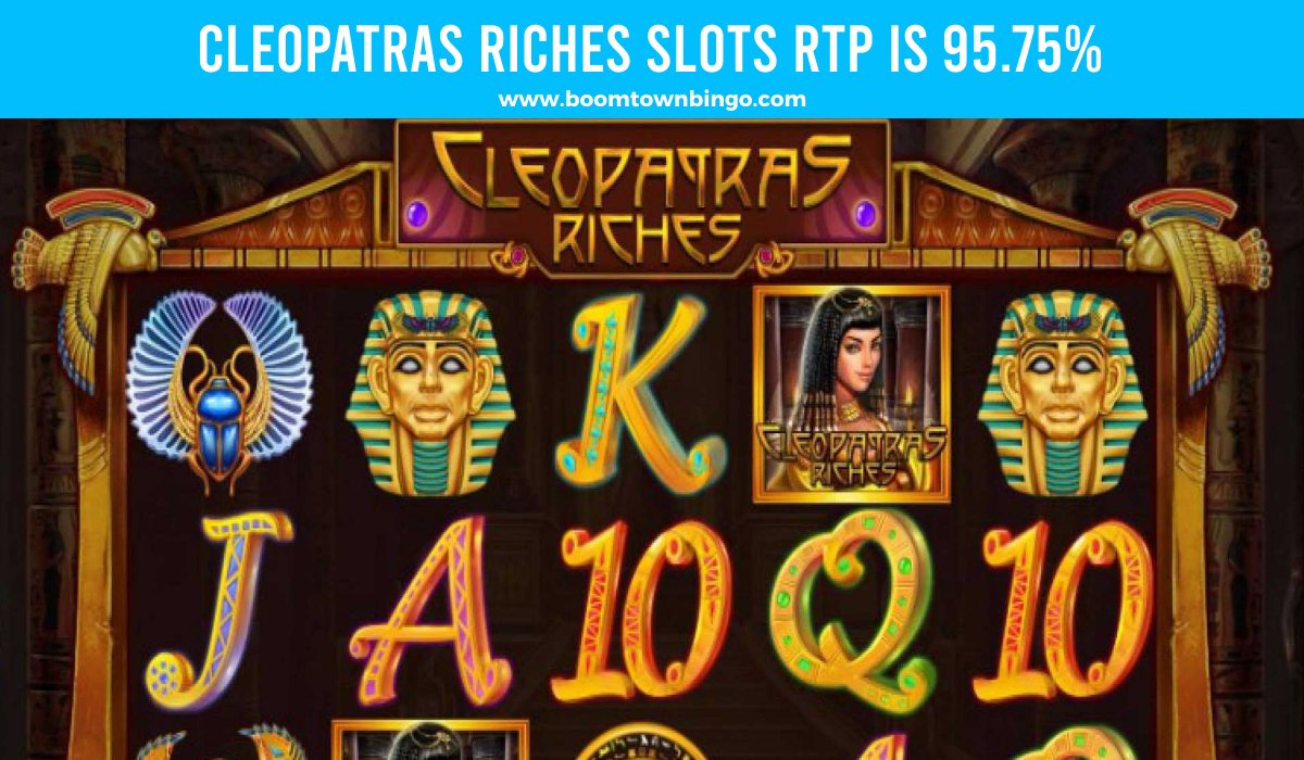 Cleopatras Riches Slots Return to player