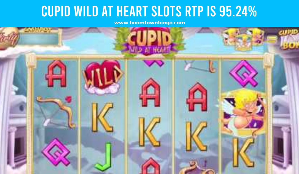 Cupid Wild at Heart Slots Return to player