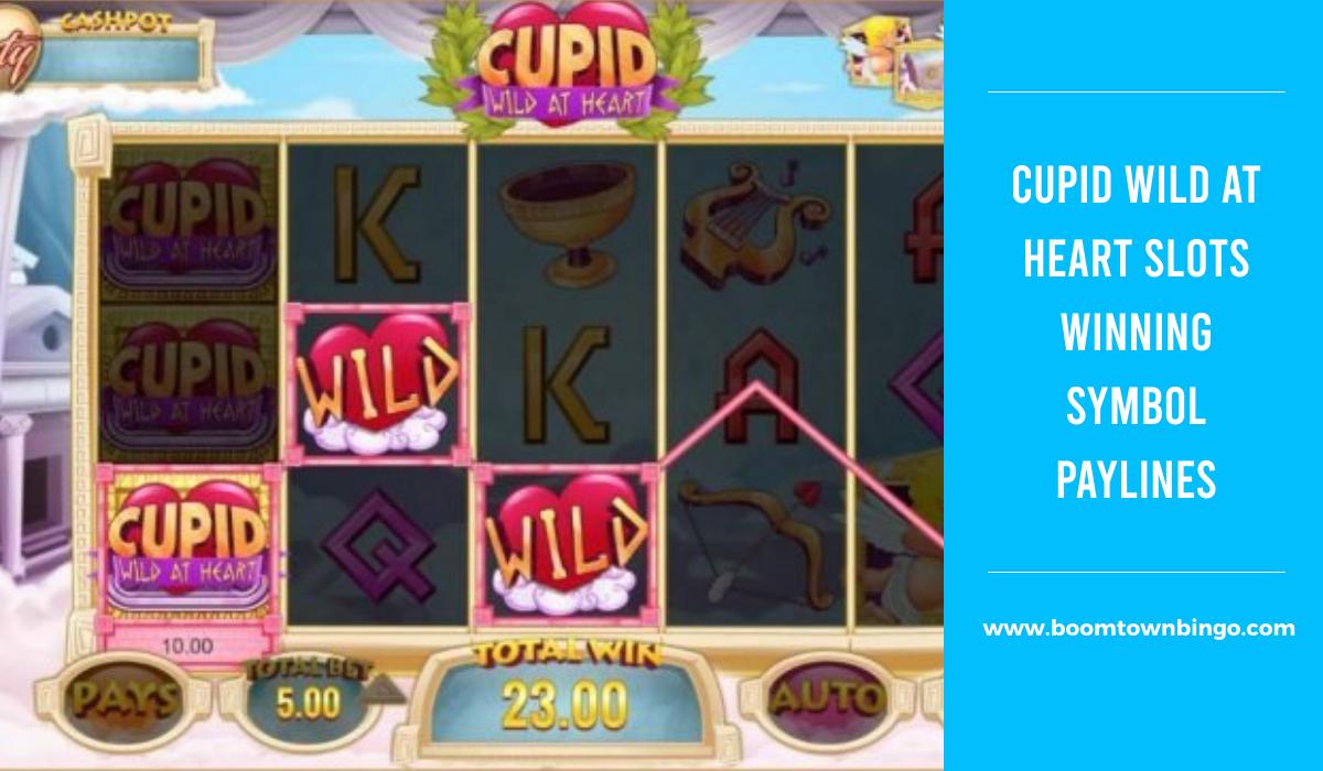 Cupid Wild at Heart Slots Symbol winning Paylines