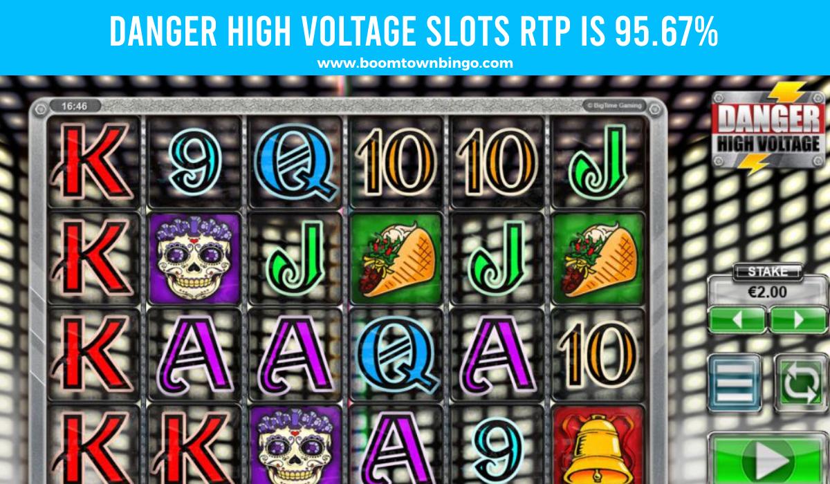 Danger High Voltage Slots Return to player