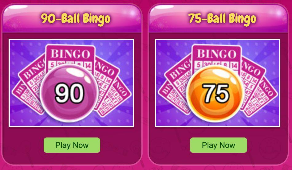 candy shop bingo bingo games