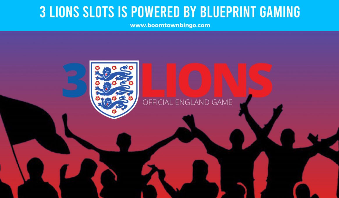 3 Lions Slots made by Blueprint Gaming